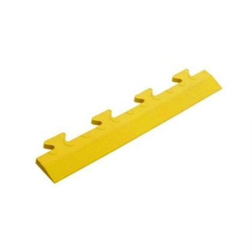 MotoMat Tile Edge Ramps (Yellow Male CoinTop)